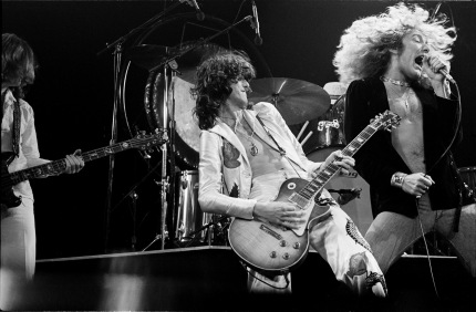 Led Zeppelin Madison Square garden New York 1977