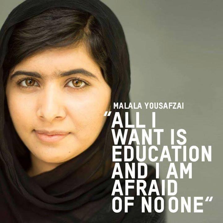 Malala message