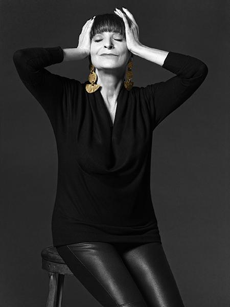 Jeanne Beker by Bryan Adams