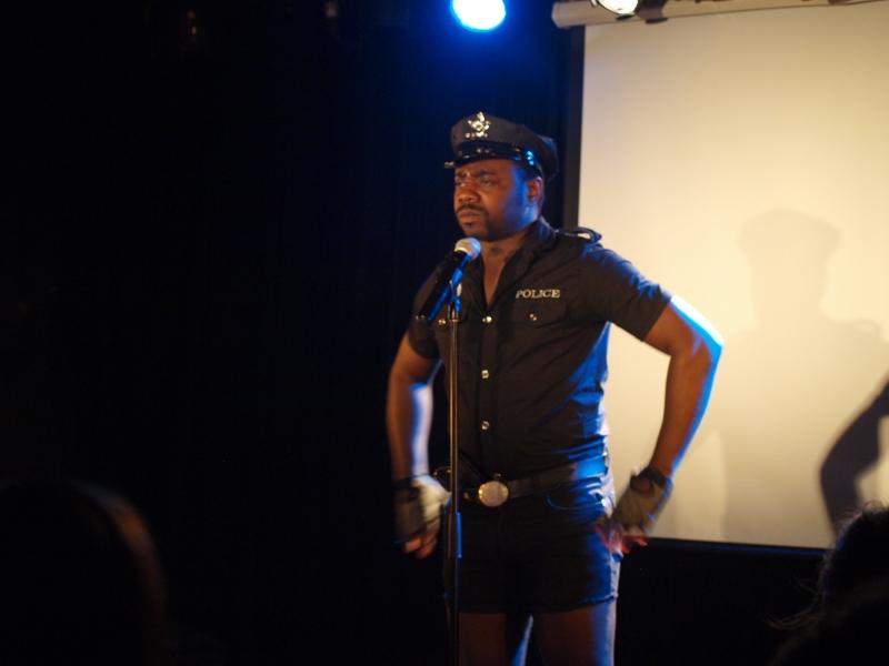 La police sexy