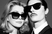 I were sunglasses at night