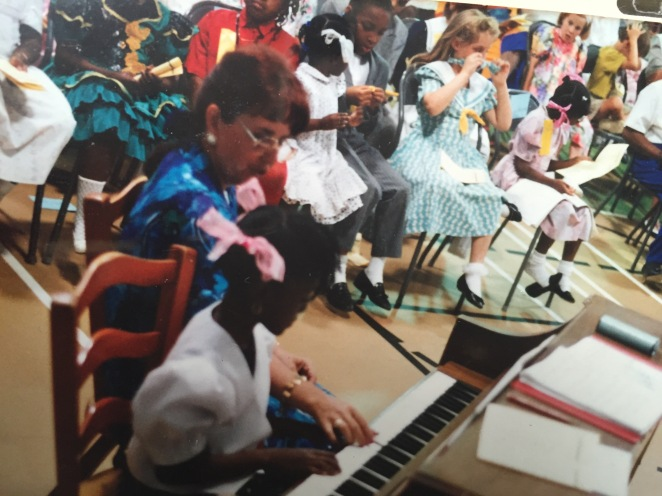My first piano recital