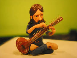 While is Sitar Gently Weeps