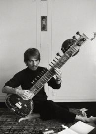 George H. and his sitar