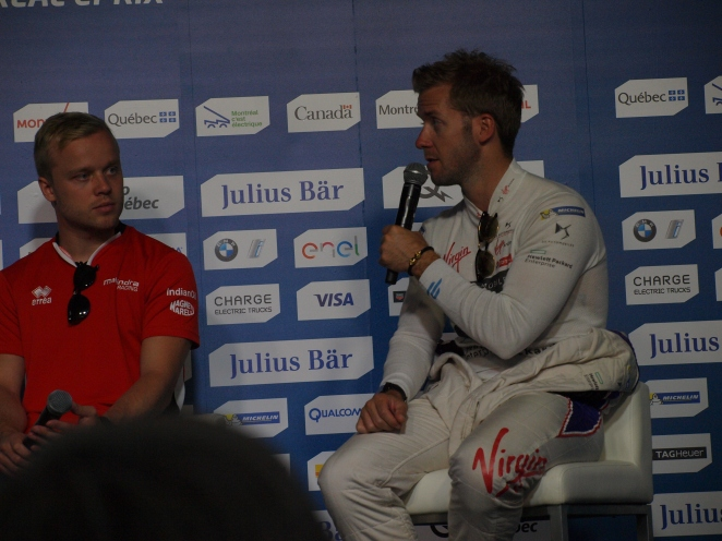 Sam Bird et Felix Rosenqvist