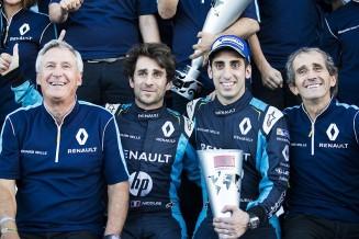 Renault team