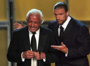 Flair and Triple H