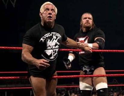 Flair with HHH