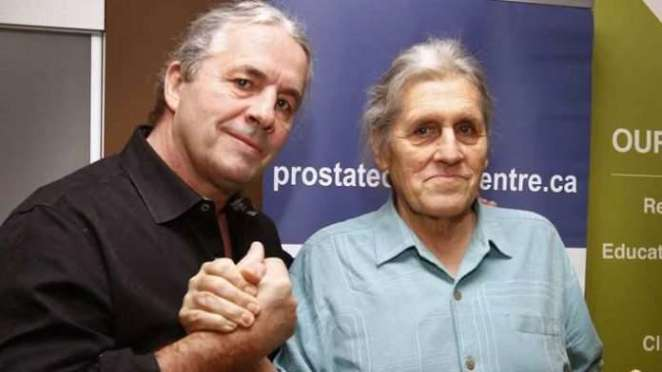 Bret and Smith Hart