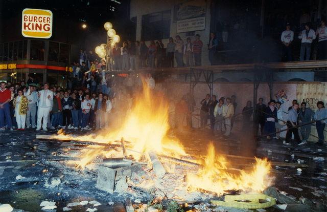 Émeute 1986