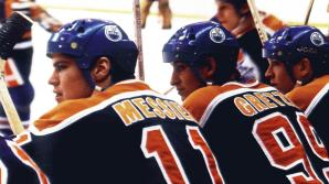 Messier and Gretzky