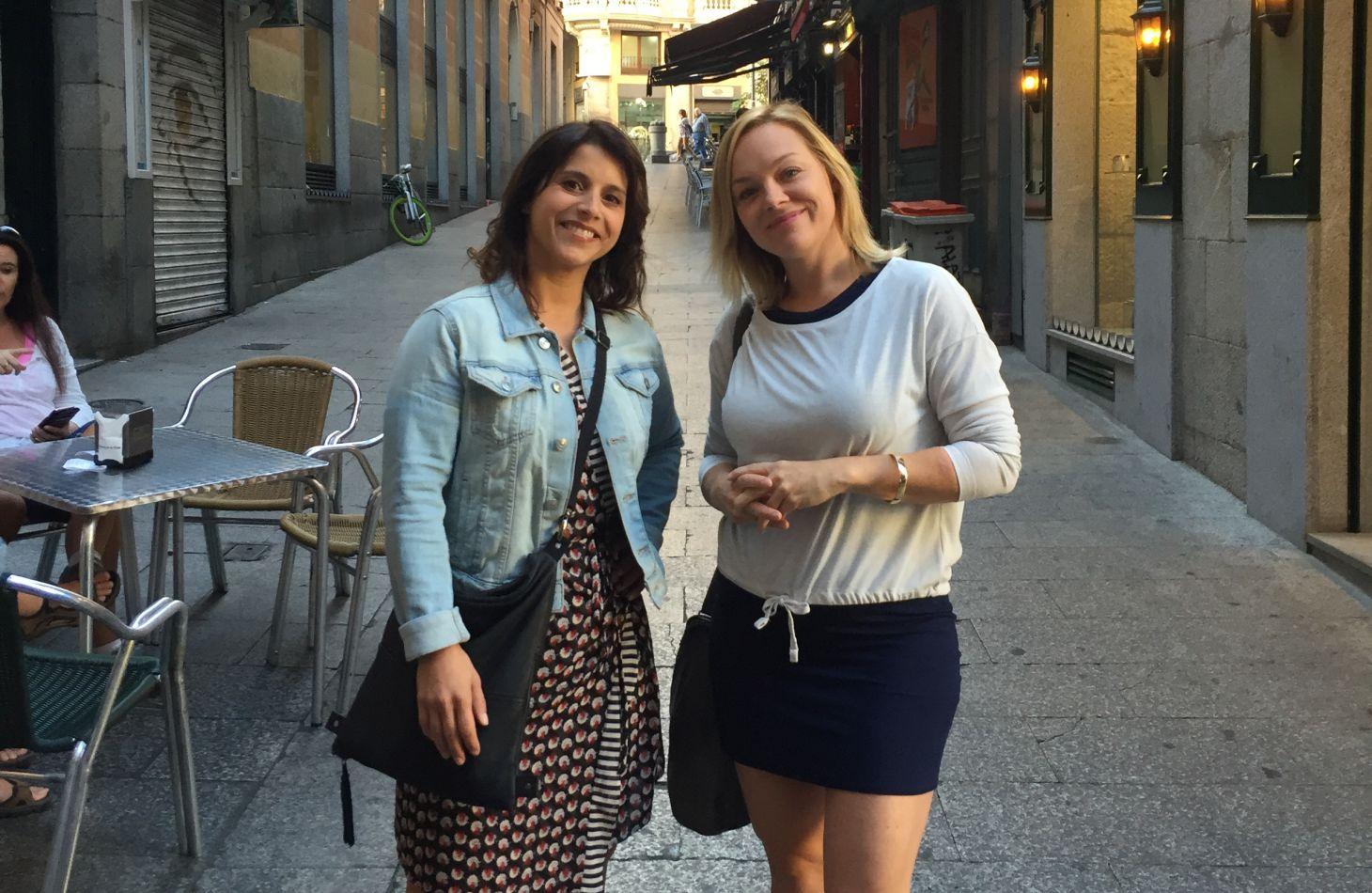Anaïs Favron et Isabelle Ménard