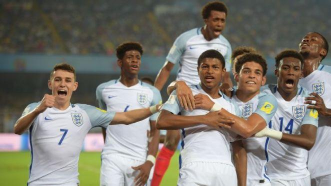 England under 17 2017