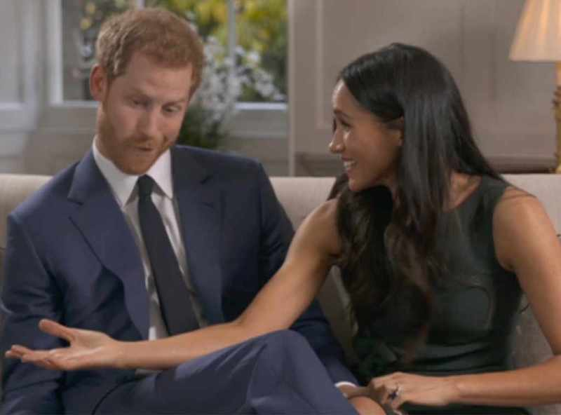 Funny Prince Harry and Meghan