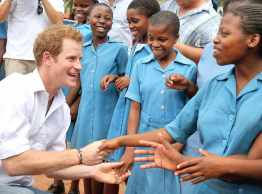 Harry in Maseru