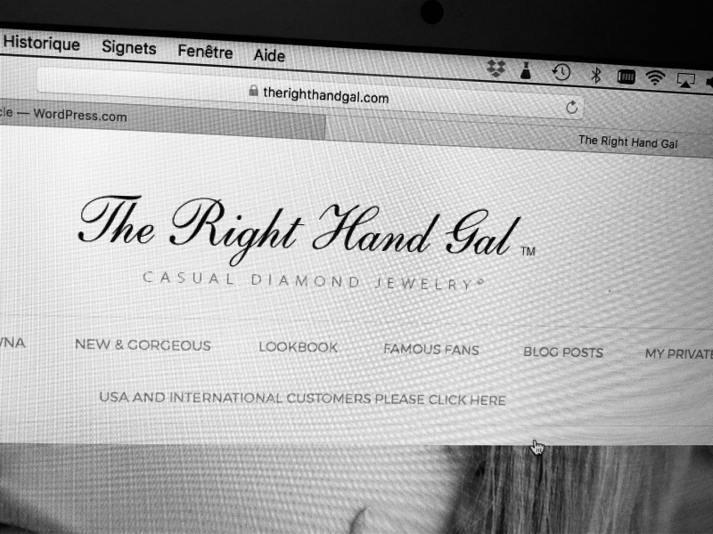 The Right Hand Gal Website