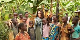 Meghan Markle and the kids