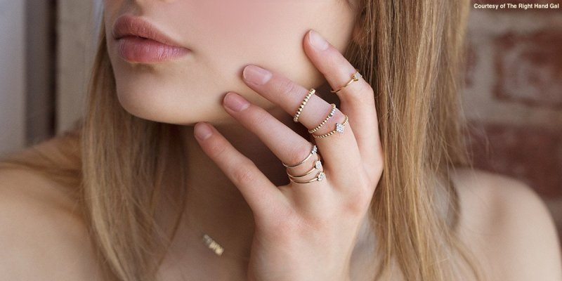 The Right Hand Gal rings
