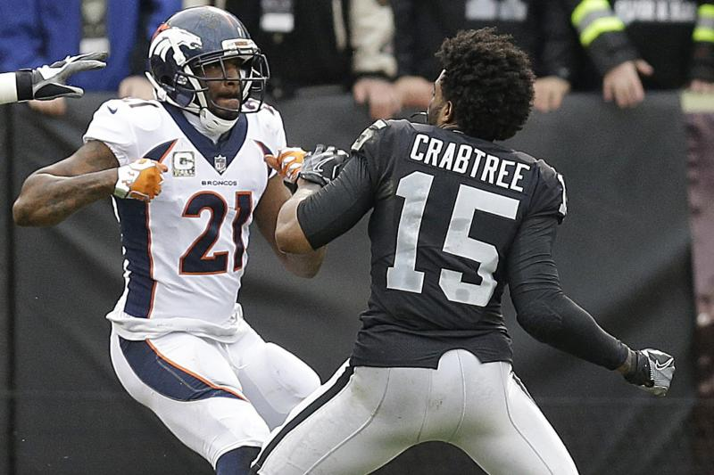 Crabtree and Aqib fight