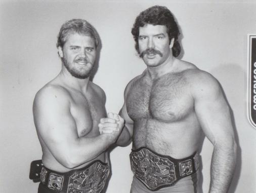 Scott Hall and Curt Henning