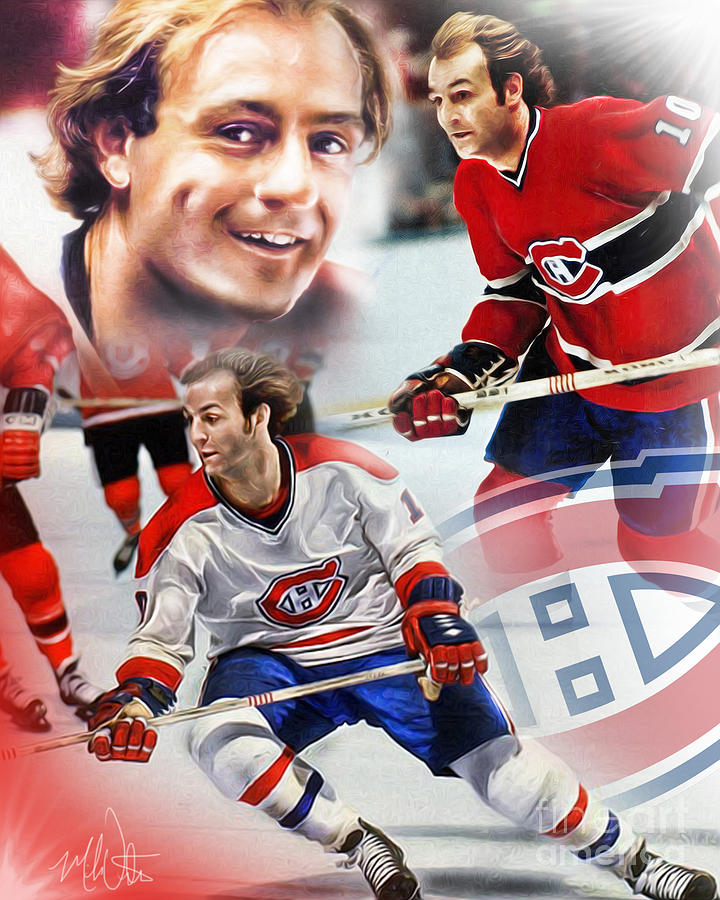 Guy Lafleur by Mike Oulton