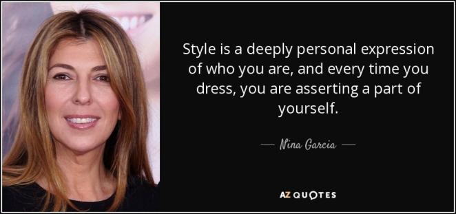 Nina Garcia Quote