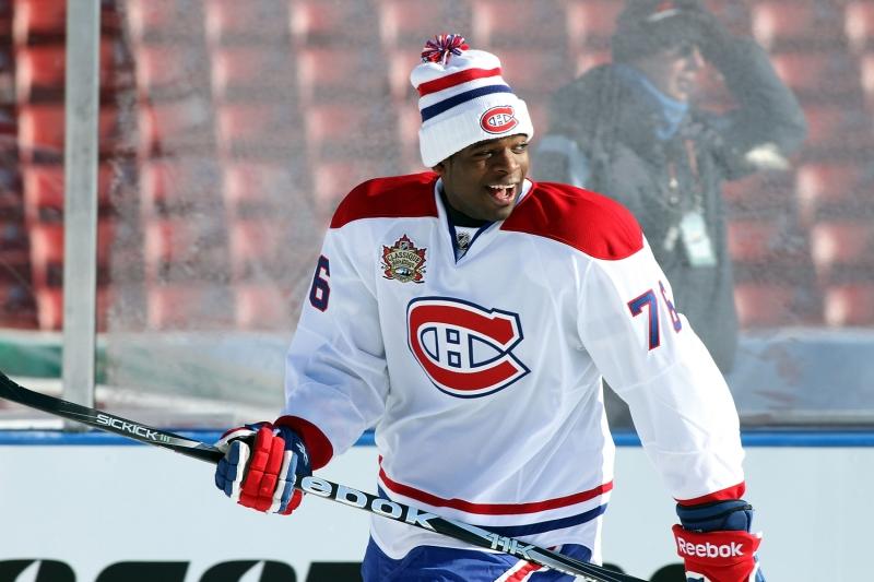 2011 Heritage Classic - Montreal Canadiens Practice