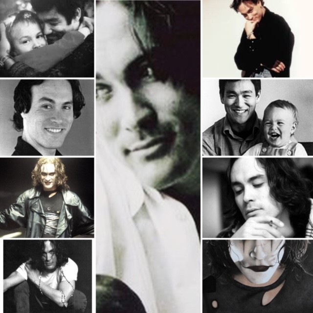 Brandon Lee Chronicle Collage