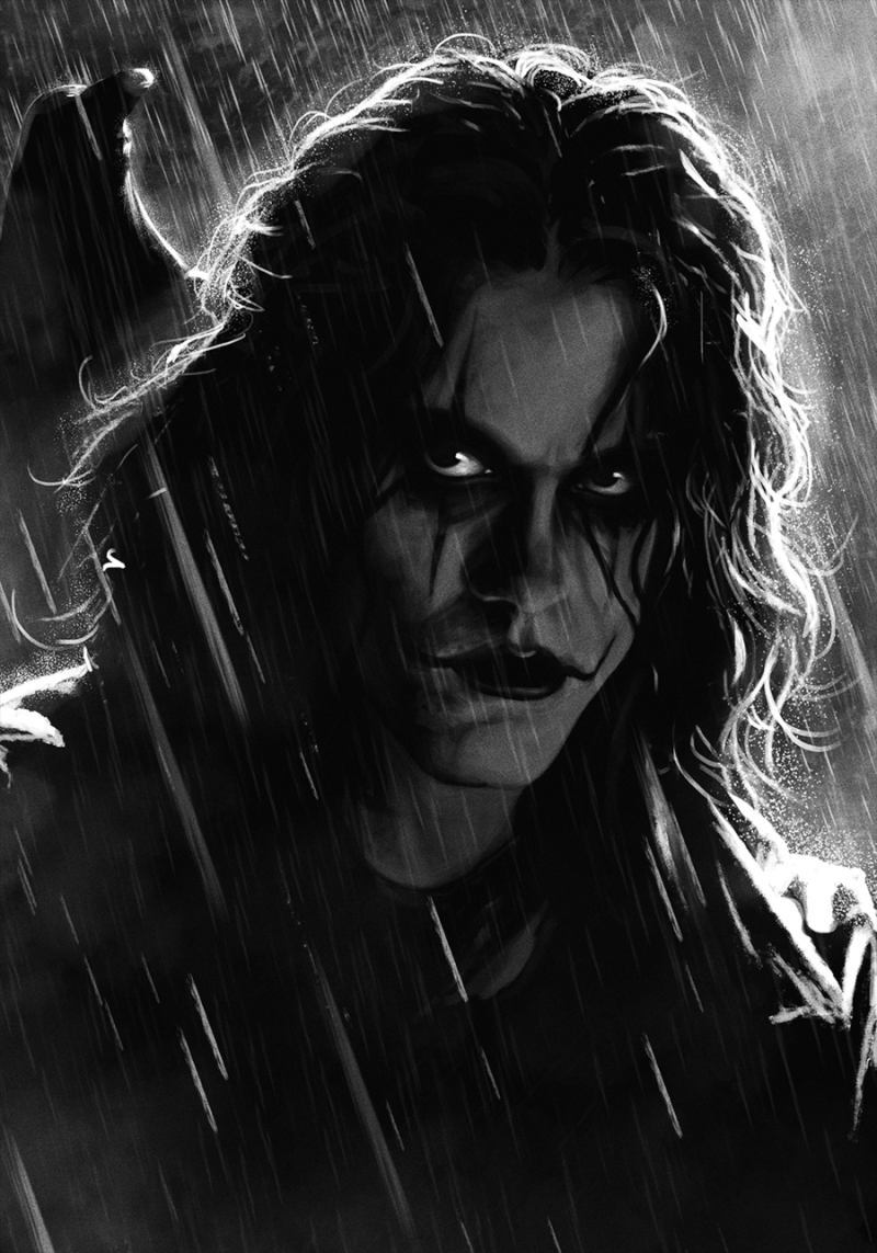 Drawing by Eric Draven