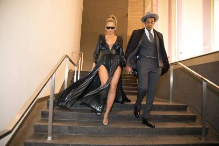 Beyonce and Jay-A