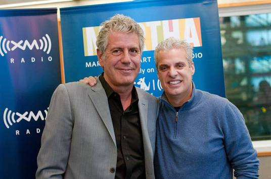 Bourdain and Ripert bromance