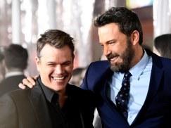 Damon and Affleck