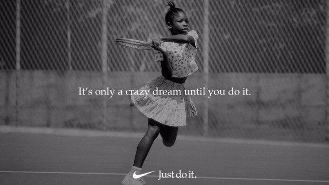 Serena Just Do It