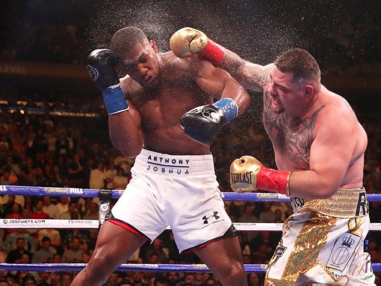 Saturday June 1st 2019 fight Anthony Joshua