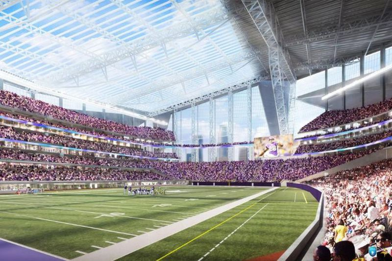 US Bank Stadium Minnesota