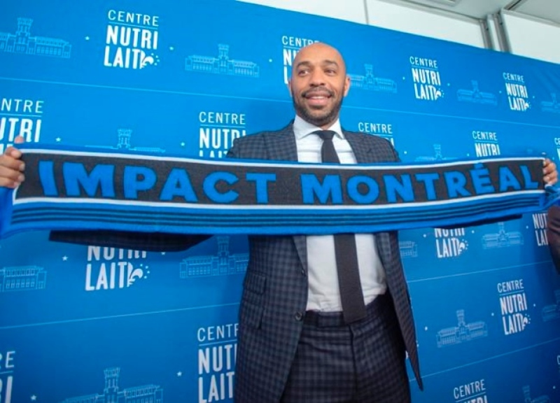 Thierry Henry Montréal